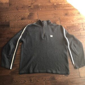 The Black Dog Men's Gray pullover